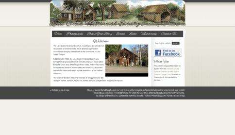 Lake Creek Historical Society