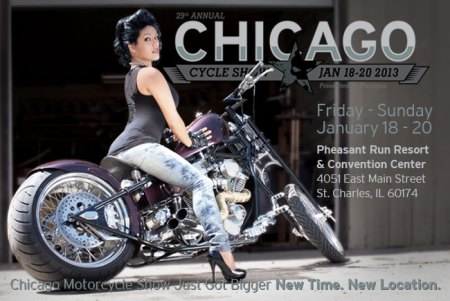 29th annual Chicago Motorcycle Show and Parts Expo Jan 18 -20, 2013