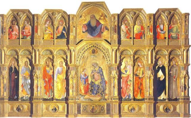 Λορέντσο Βενετσάνο 1357-58. Πινακοθήκη της Ακαδημίας. Βενετία.