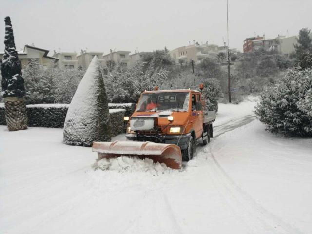 Κλειστοί δρόμοι και σχολεία περιφερειακά της πόλης σήμερα