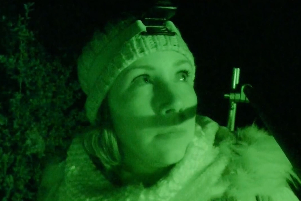 Museum founder Dana Newkirk leads an investigation into ghostly activity in a haunted forest.