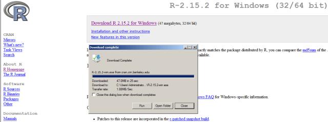 Install R for windows twitter analytics