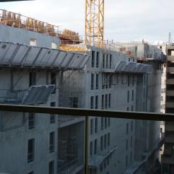 arc 17, Arrière du bâtiment, 20 décembre 2014