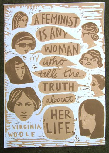 feminist virginia woolf