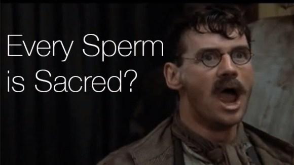 monty python sacred sperm