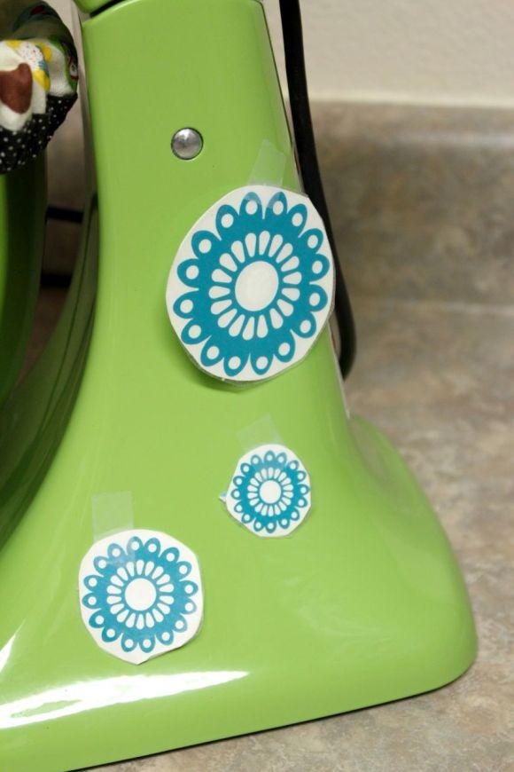 Diy Kitchenaid Mixer Decals ~ Diy vinyl mixer decals parental perspective