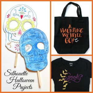 Silhouette Halloween Projects