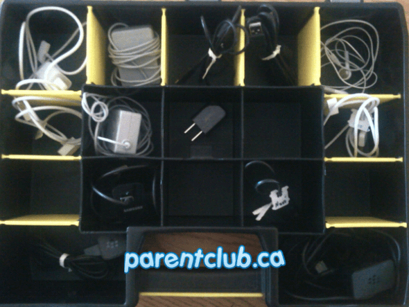 organize cables