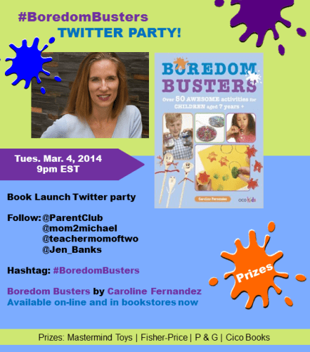#BoredomBusters Book Launch Twitter Part