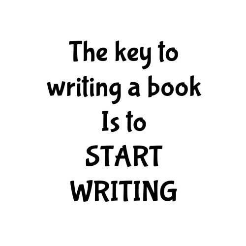 Start Writing, motivation, inspiration, writing