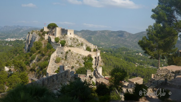 The Never Expected Experience of a Reluctant Traveler, castle, Spain