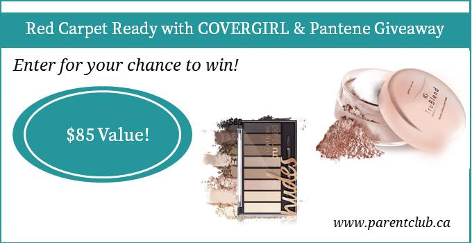 Red Carpet Ready with COVERGIRL & Pantene Giveaway