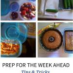 Prep For The Week Ahead Tips