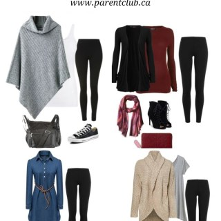 Fall Casual Outfits, how to wear leggings via www.parentclub.ca
