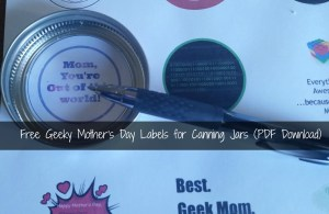 GeekyMothersDayLabels