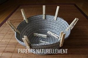 activité Montessori pinces à linge