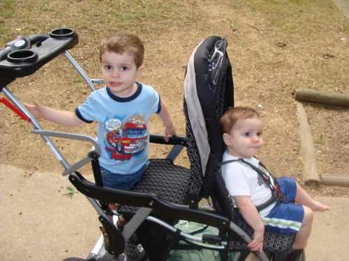 Medium Of Baby Trend Sit N Stand Double Stroller