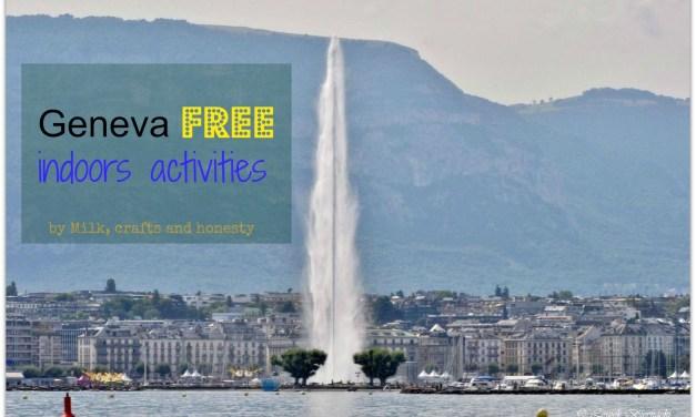 Gratis kids activities in Geneva