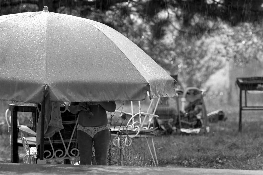 enfant pluie