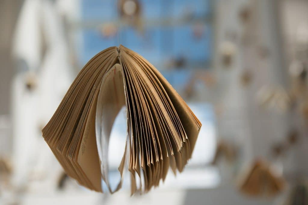 livre a l'envers
