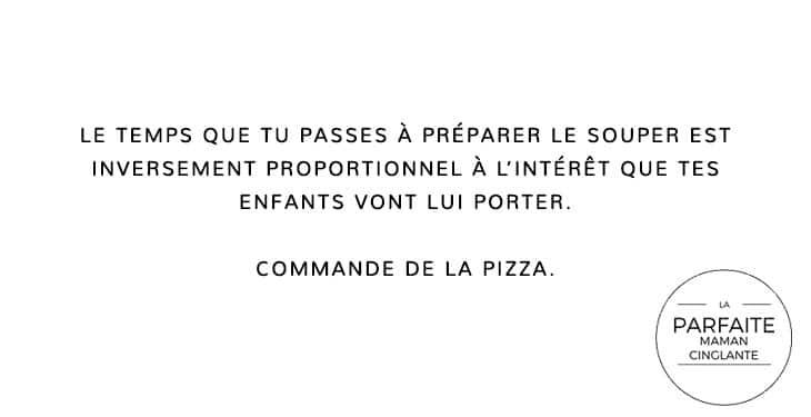 COMMANDE PIZZA