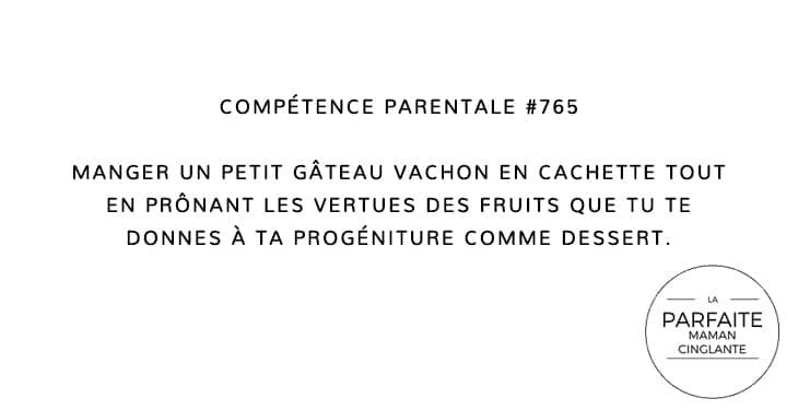 COMPETENCE PARENTALE 765