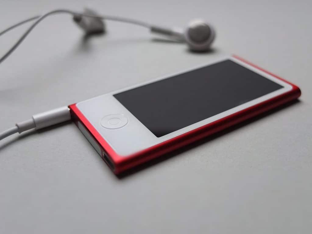 ipod rouge