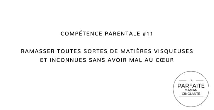 COMPETENCE PARENTALE 11 MATIERES