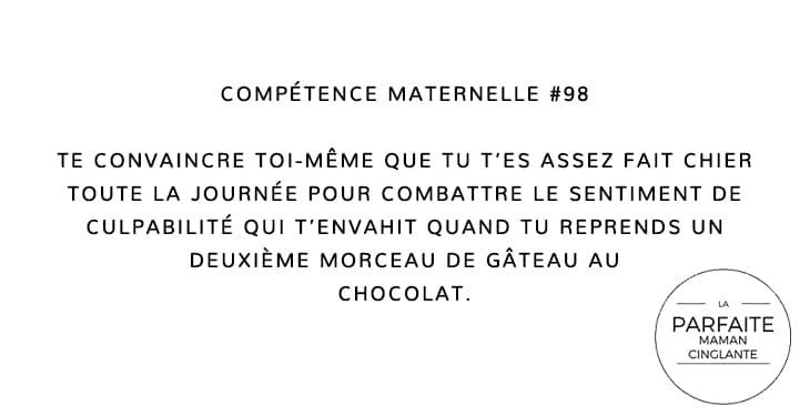 COMPTENCE MATERNELLE 98 GATEAU AU CHOCOLAT