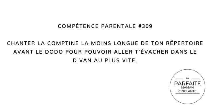 COMPTENCE PARENTALE 309 UNE HISTOIRE