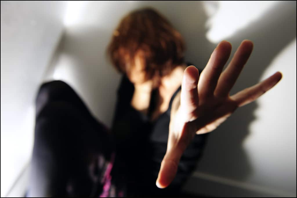 femme battue violence