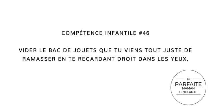 COMPETENCE INFANTILE 46 VIDER