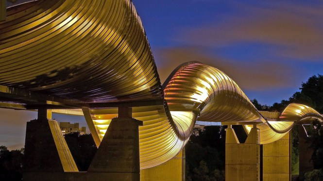 The Henderson Waves Bridge