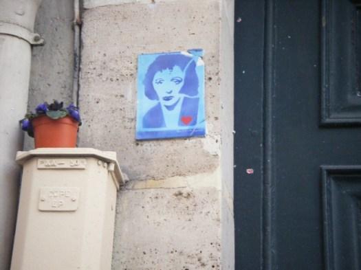 Edith Piaf au 72 Rue de Belleville