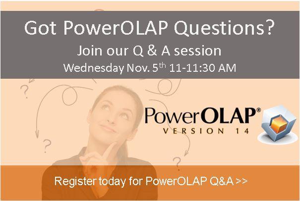 PowerOLAP Q&A