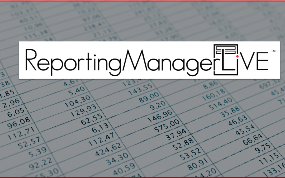 Coming Soon! Reporting Manager Live: an FRX and Management Reporter Replacement