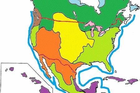 Map Of Biomes Around The World - Biome map ofthe us
