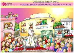 Cartel PAMA Vacaciones S.Santa 2018