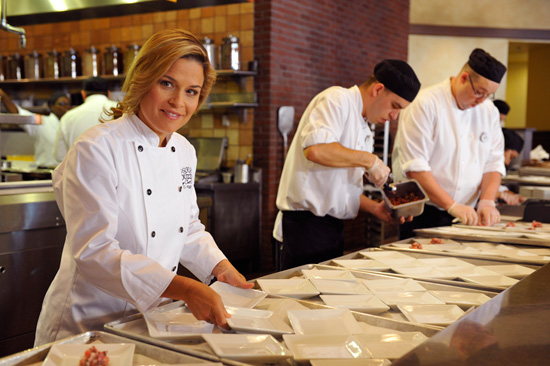 Meet Celebrity Chef Cat Cora at Epcot International Food & Wine Festival at Walt Disney World Resort