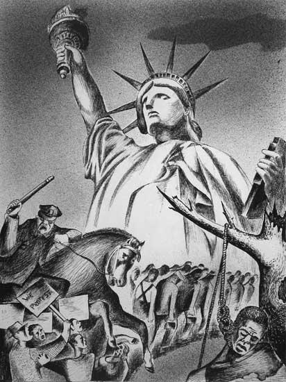 Leon Bibel In the Shadow of Liberty