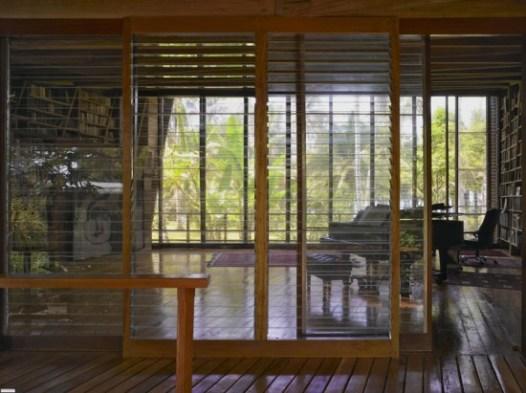 Деревянные отделочные материалы в интерьере