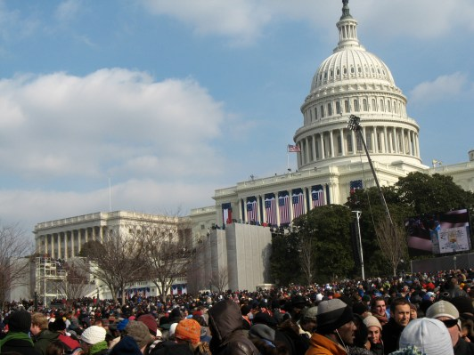 inauguration day the capital mall