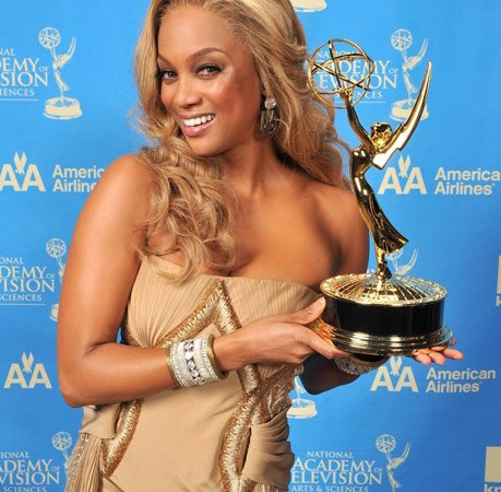 Television personality Tyra Banks poses for her portrait during