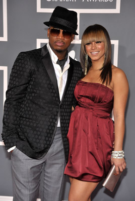 ne-yo and girlfriend at grammys