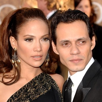 Jennifer Lopez, Marc Anthony in happier times; per naijanedu