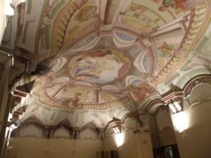 Fresco ceiling of St. Michael