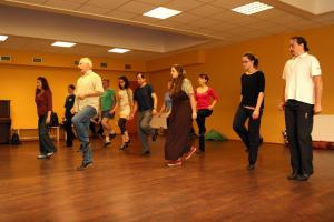 Irish dancing class in Prague