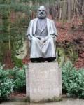 Karlovy Vary monument to Karl Marx