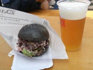 Beer and Burger at Prague Burger Fest