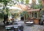 courtyard cafe prague